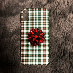 Iphone X Gift Wrap Bow Phone Case NEW